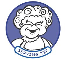 serving tip cartoon