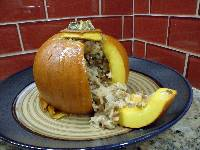 stuffed pumpkin savory